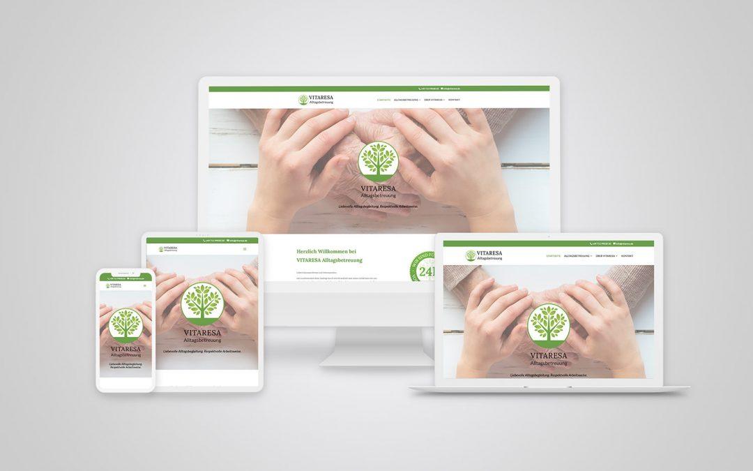Vitaresa Alltagsbetreuung geht online